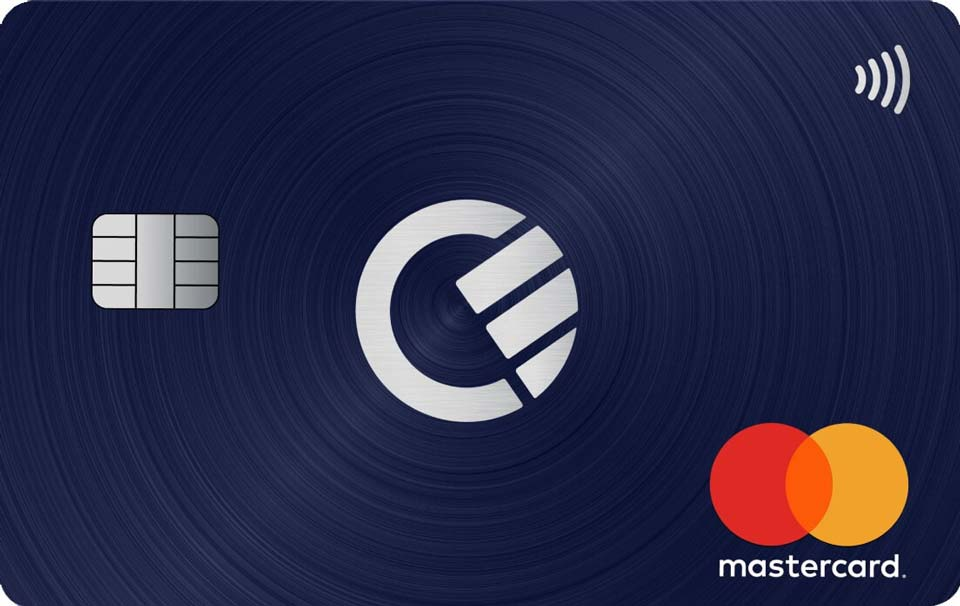 L'immagine della carta di credito Curve