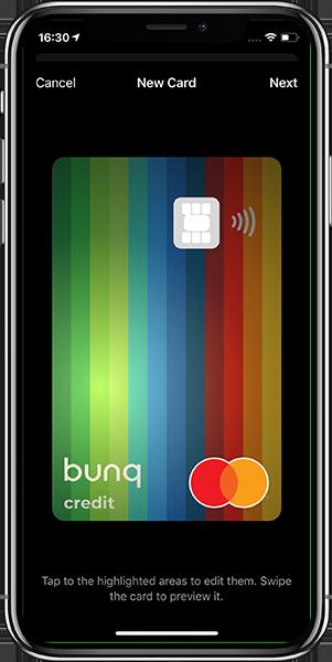 Anteprima dell'app Bunq | Conto corrente Bunq