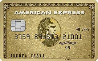 Anteprima della carta Oro American Express