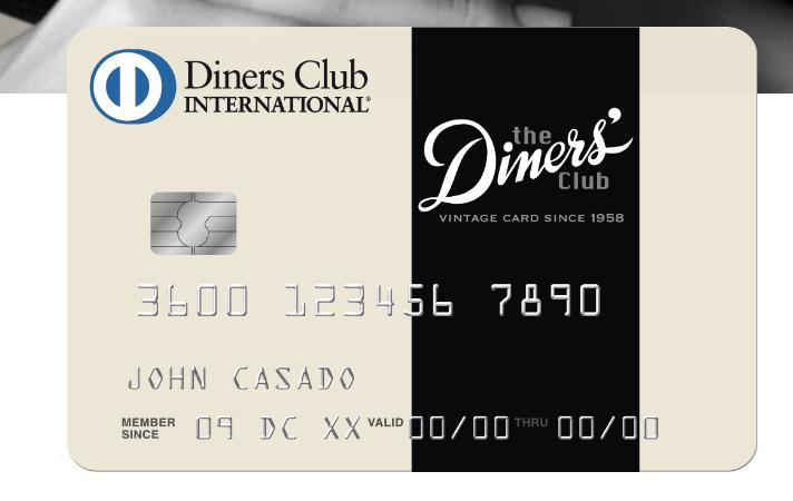 Anteprima Carta di credito Diners Club