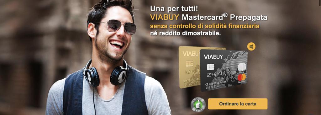 Anteprima del sito | ViaBuy Mastercard carta di credito