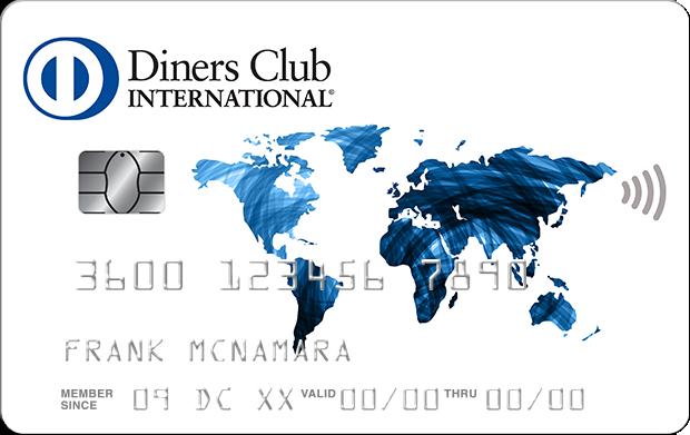 Anteprima carta di credito Diners Classic