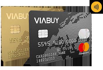 Anteprima carte di credito ViaBuy Mastercard