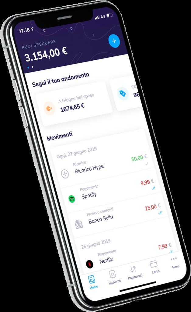 Anteprima dell'app di Transferwise