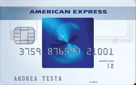 Anteprima della carta blu American Express | Carte di credito American Express