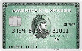 Anteprima della carta verde dell'American Express | Carte di credito American Express