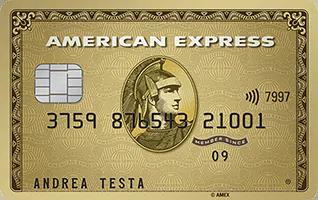 Anteprima della carta Oro American Express | Carte di credito American Express