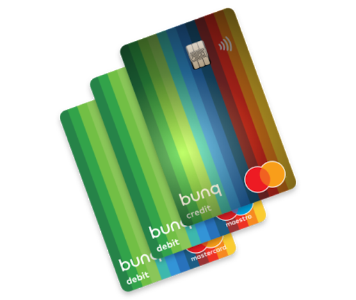 carta bunq travel