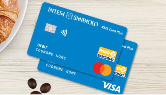 Carta XME Card Plus Intesa Sanpaolo